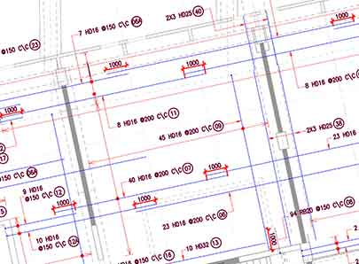 Rebar Detailing Services, Shop Drawing Fabrications, Bar Bending